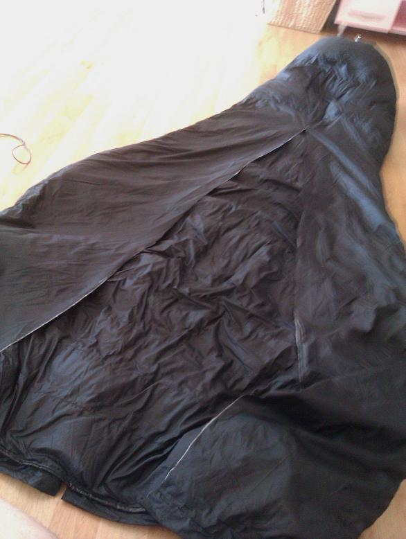 Rab Top Bag Top Quilt Conversion