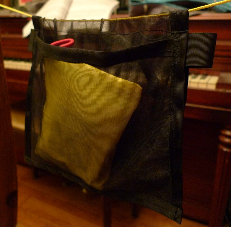Ridgeline Organizer With Sewn Channel And Tabs