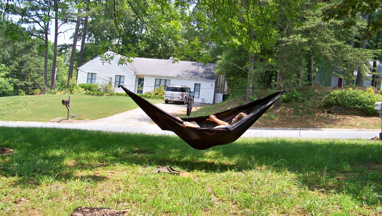 Diy Gathered End Hammock
