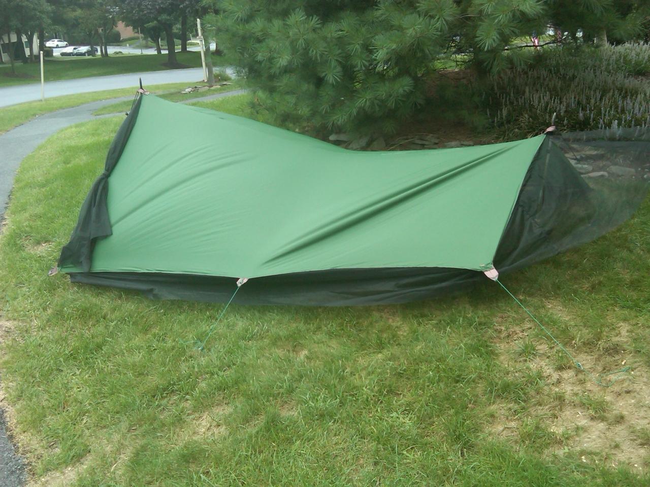 fs/t: diy tarp tent - backpacking light