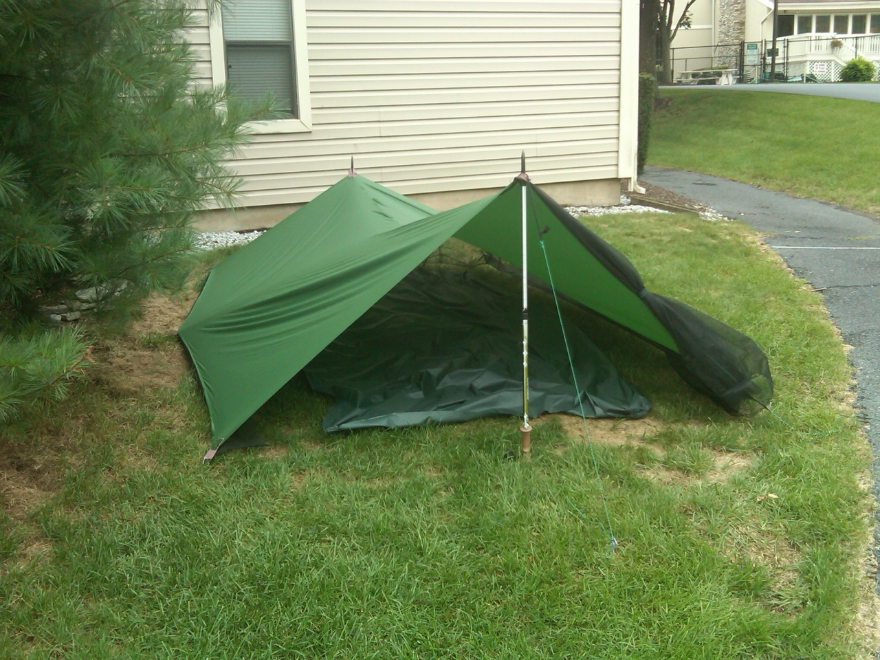 FS/T DIY Tarp Tent & FS/T: DIY Tarp Tent - Backpacking Light