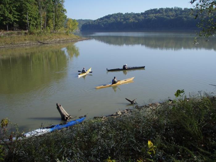 Kayaks Lake Monroe