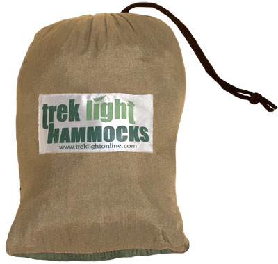 Trek Light Hammock in the pouch