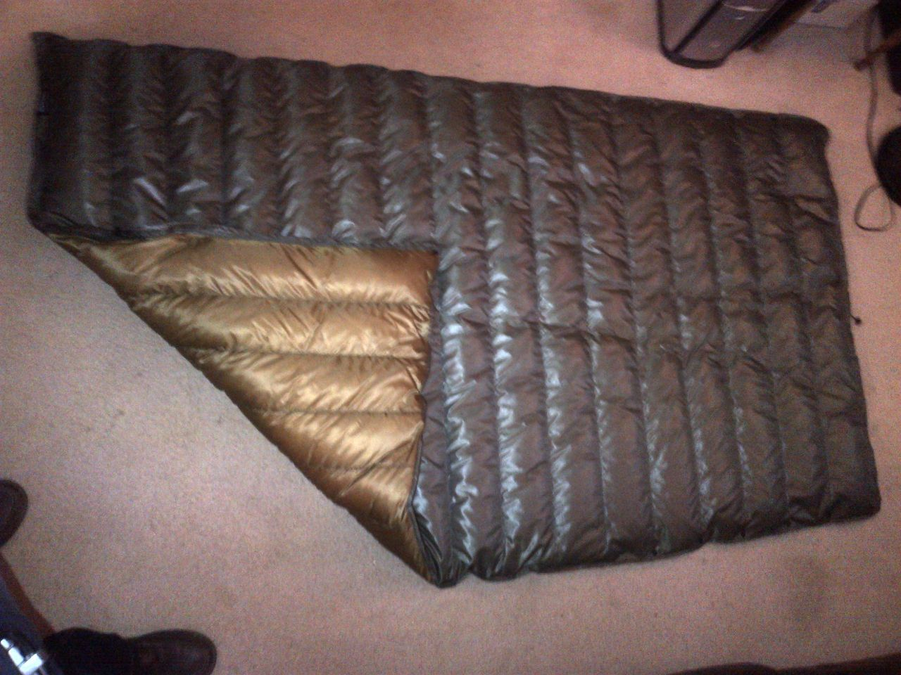 Flight Jacket Topquilt