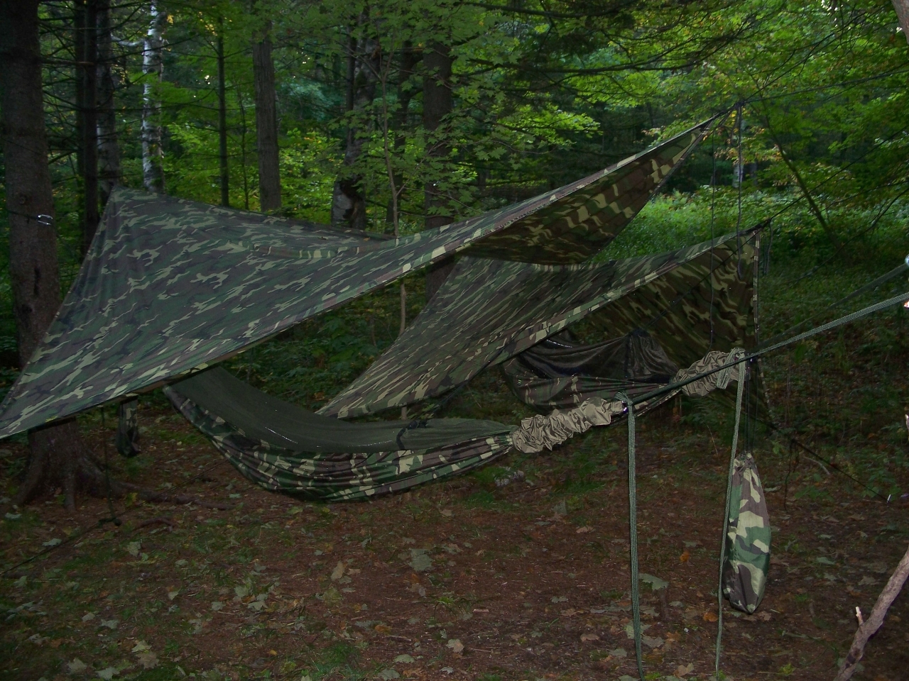 Triangle Hammock Setup