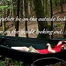 Me and my heavenly hammock. :)