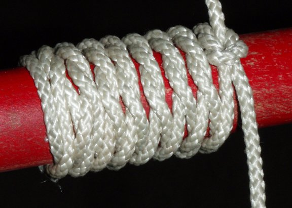 Overhand Knot Whipping