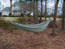 My double layer hammock