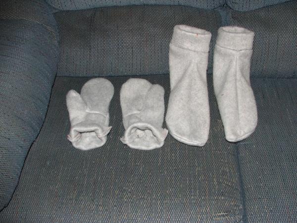 Warm hands & feet.