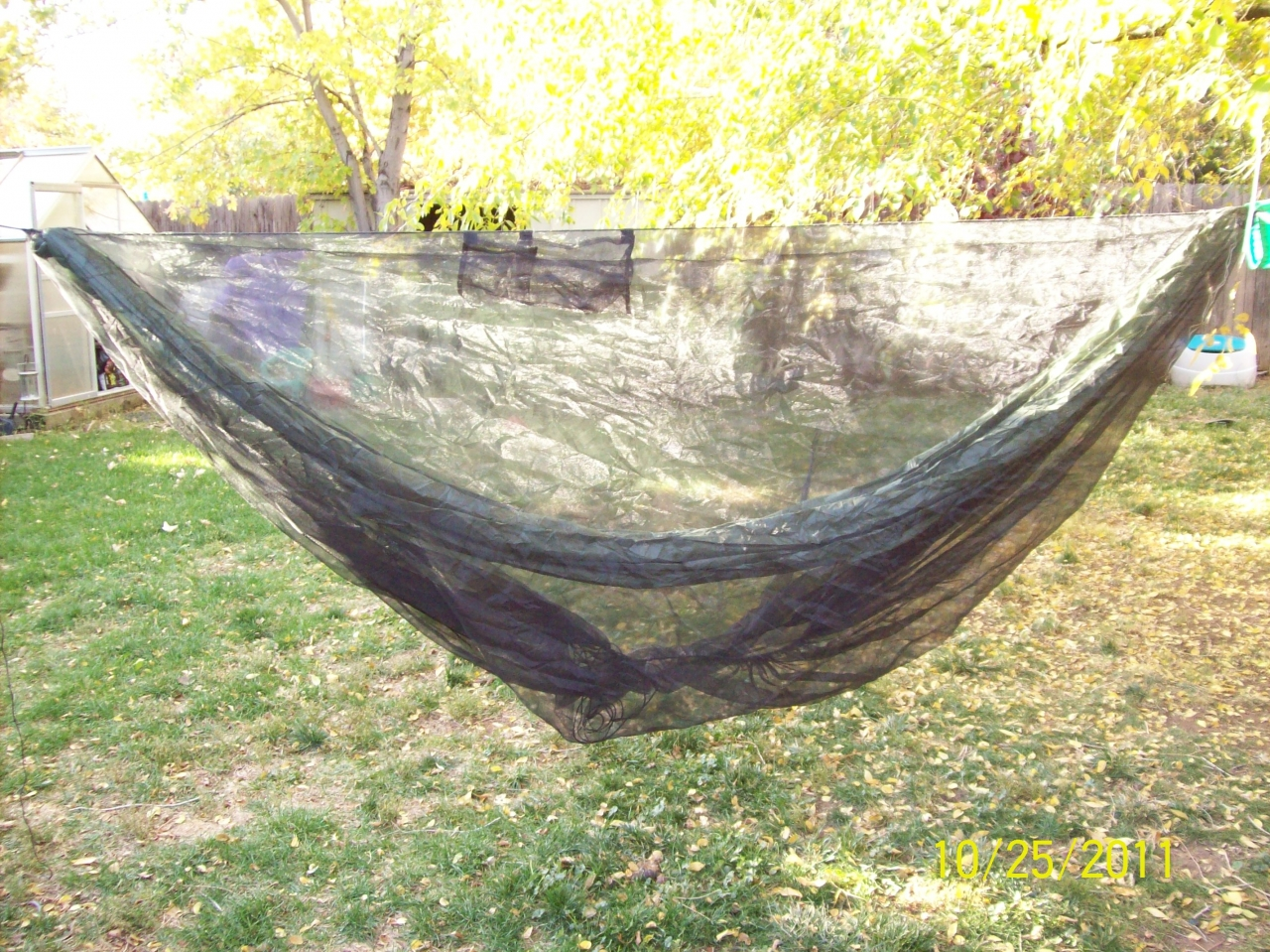 Diy Hammock And Bugnet