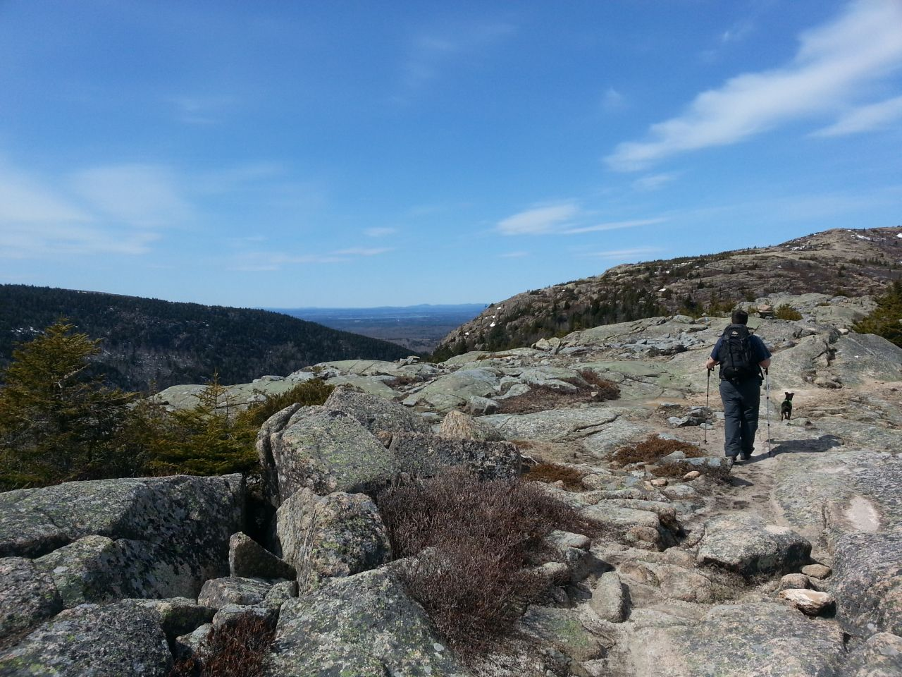 Acadia - Cadillac Mountain, South Ridge Trail