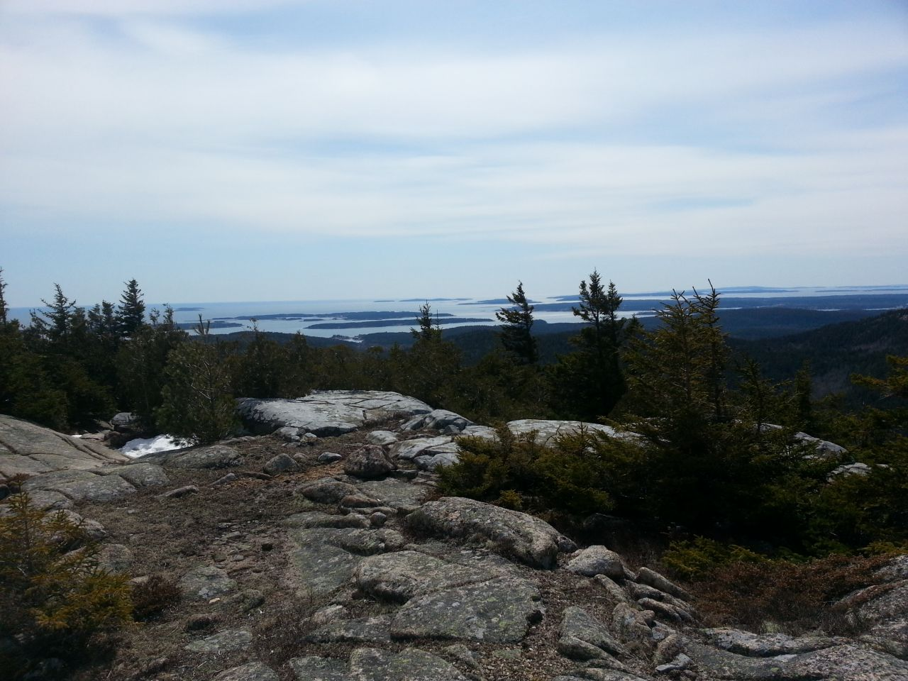 Acadia - Views From Cadillac Mountain, South Ridge Trail