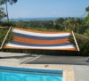 Poolside, Ocean In Background. by HammocksofCostaRica in Hammock Landscapes