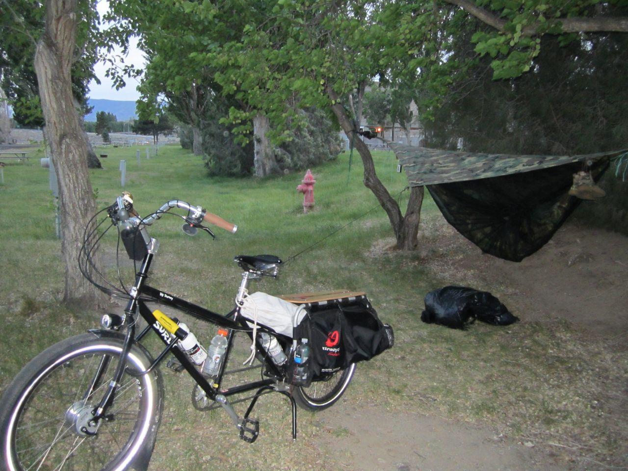 Vantage, Wa. Park Camp