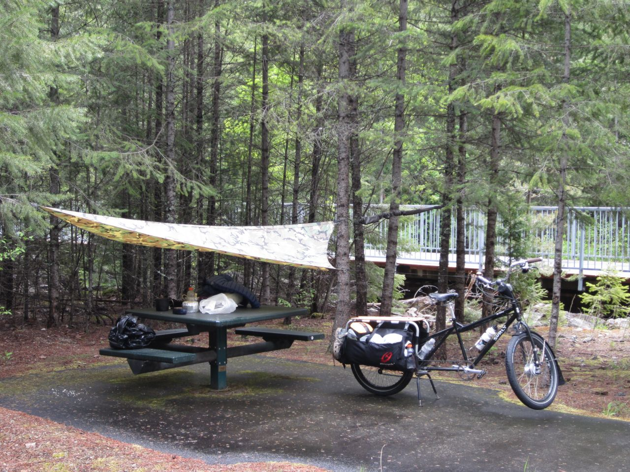 Bicycle Touring, Idaho