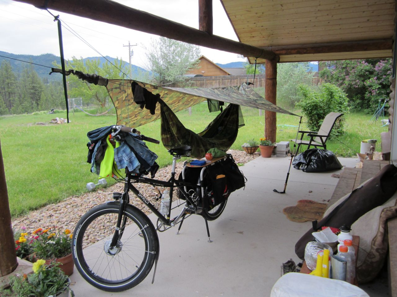 Bicycle Touring, Montana