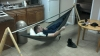 Eno Single Nest Hammock, And 30$ Diy Portable Stand, Swinging At Work