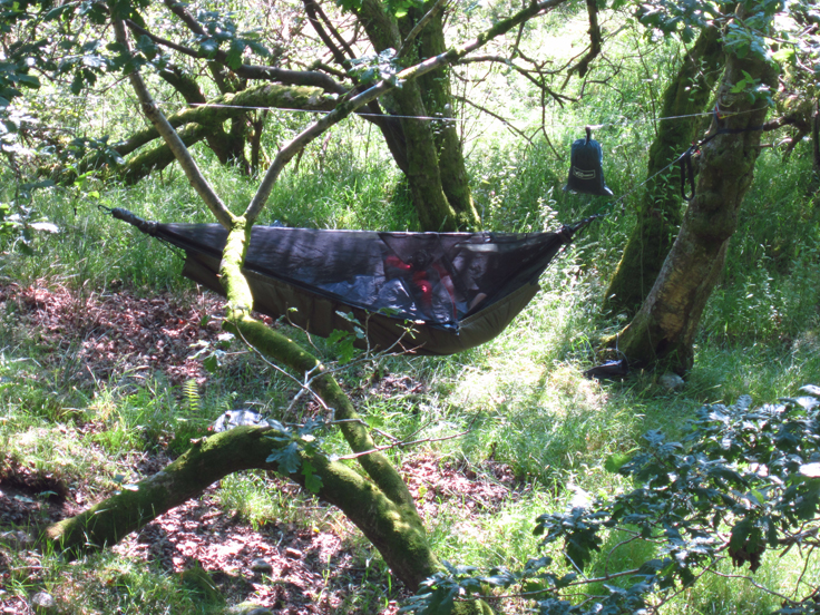 Hammock Hang On The Black Mountain In South Wales 22nd July 2012