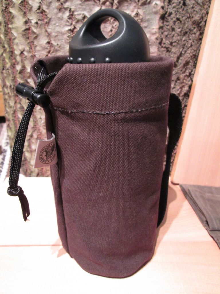 Duluth Canvas Water Bottle Pouch
