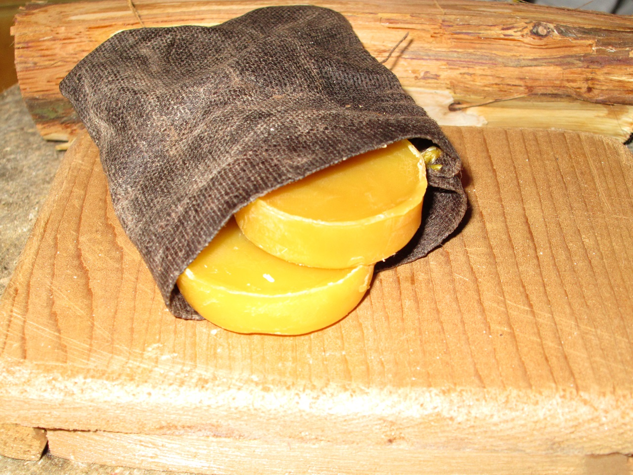 Beeswax Pouch