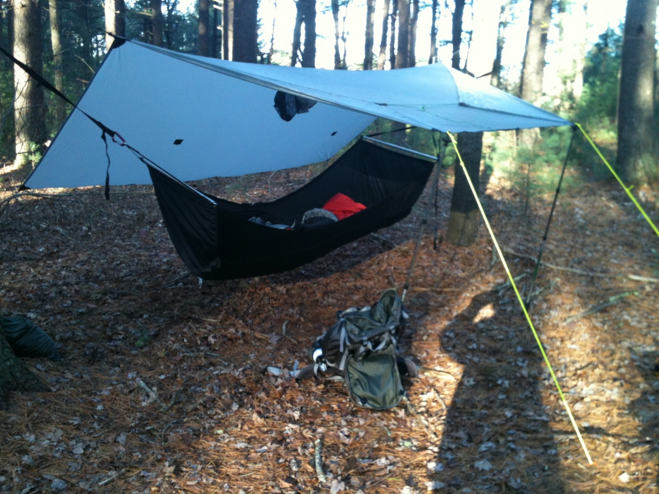 Bearpaw Wilderness Designs Tarp On A Bmbh