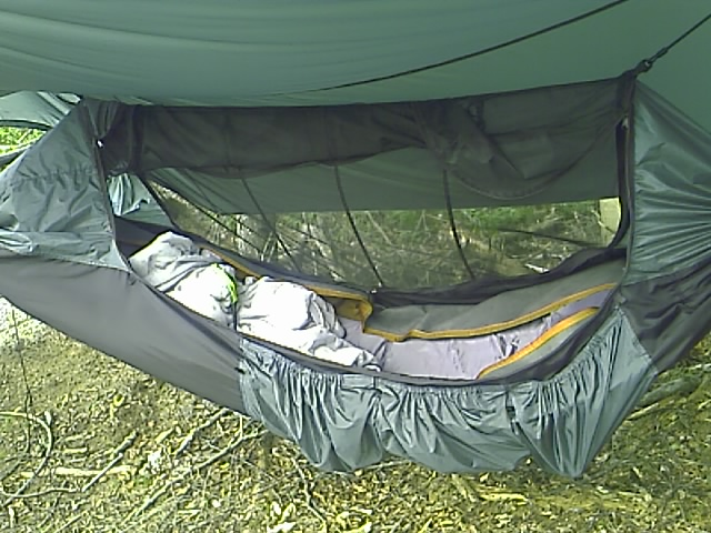 my downmat kept slipping towards the bottom of hammock so i secured it u0027s handle to the strap inside the hammock with carabiners and an adjustable web strap spent a week in a clark jungle hammock na  rh   hammockforums