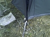 Tent Stake Tarp Holder by donjose in Hammocks