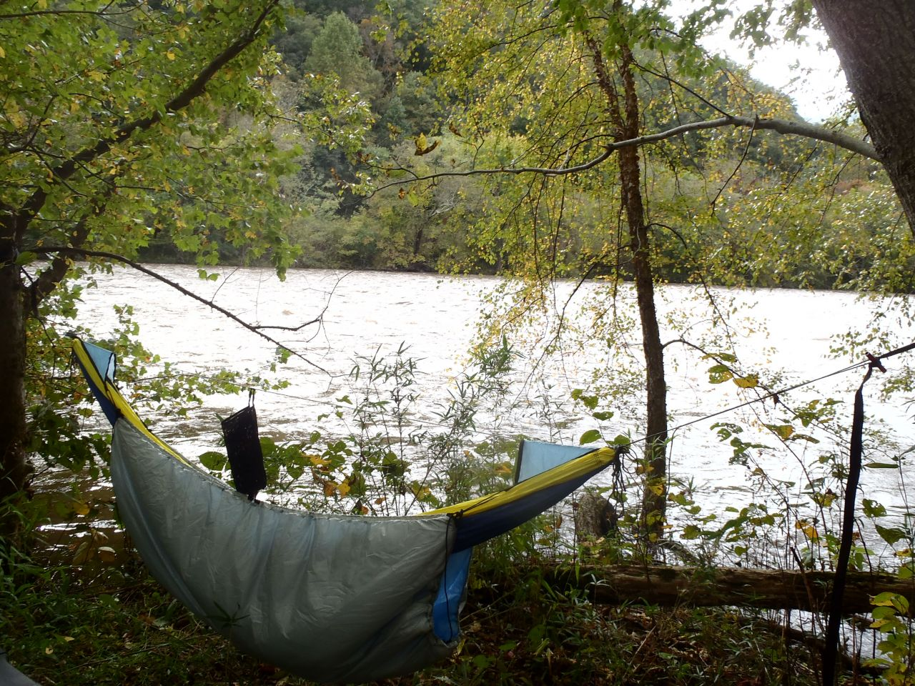 Camping On The French Broad River