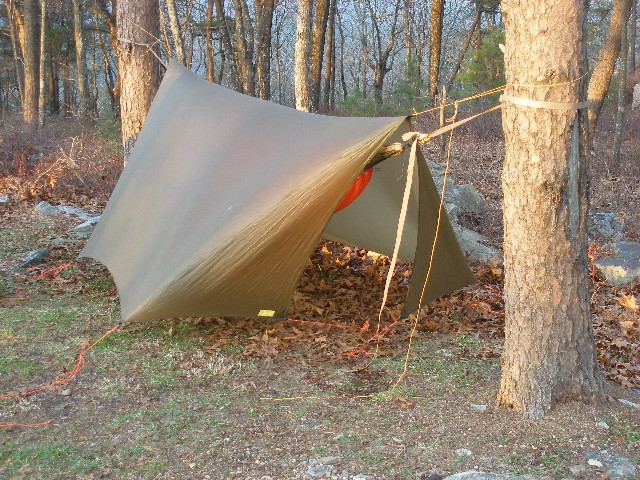 Speer Winter Tarp Battened Down