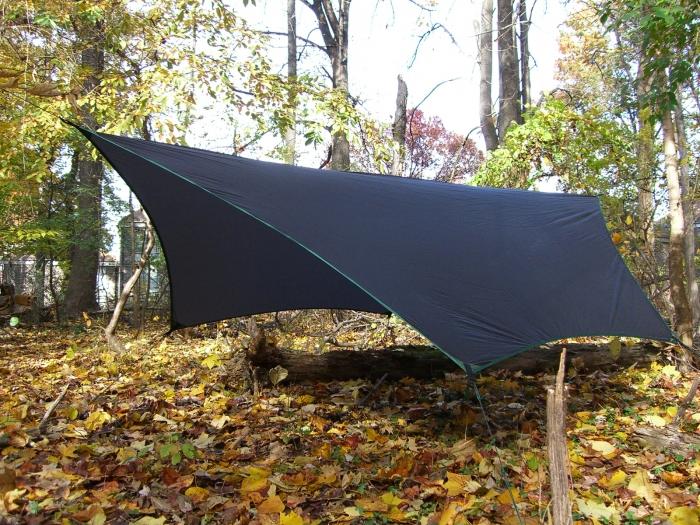 Homemade tarp