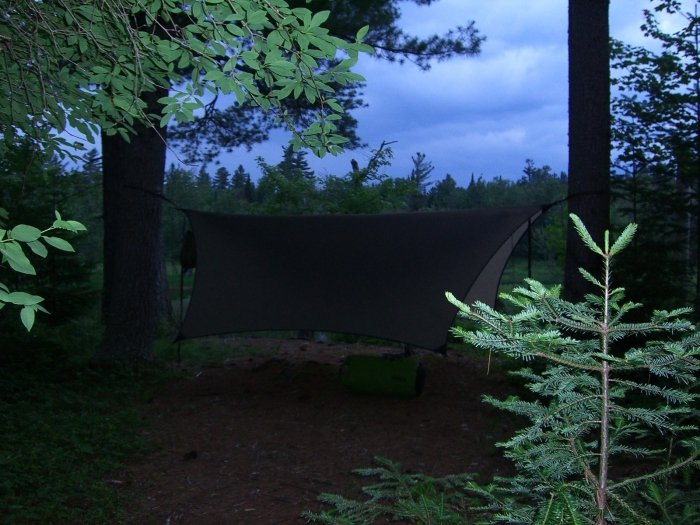 Tarp In The Adirondacks