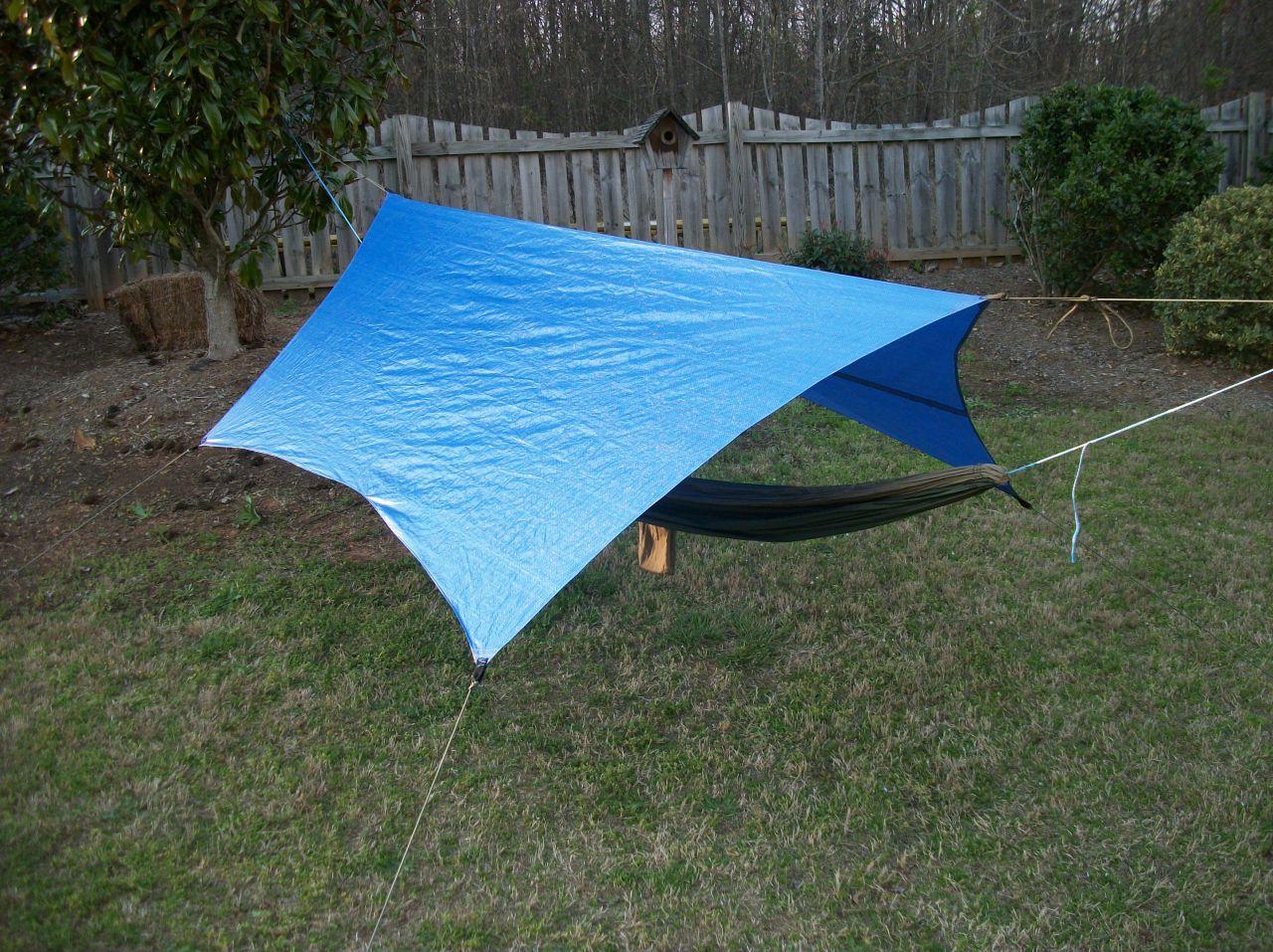 Bluecat Tarp (diy Cat Cut)