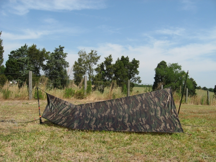 Clark's Setup As Tent\bivy