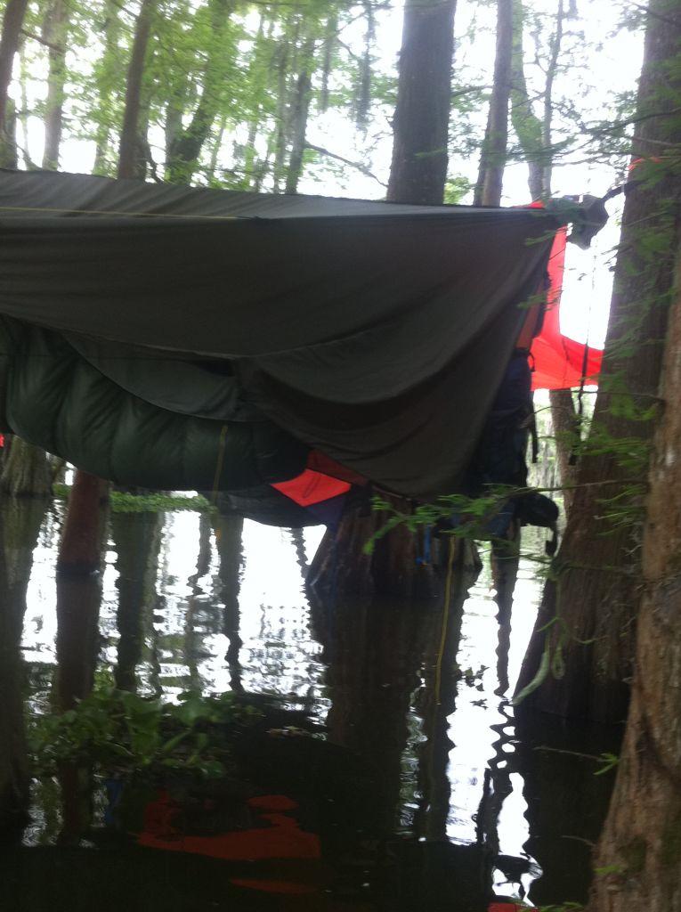 Over Water Hang