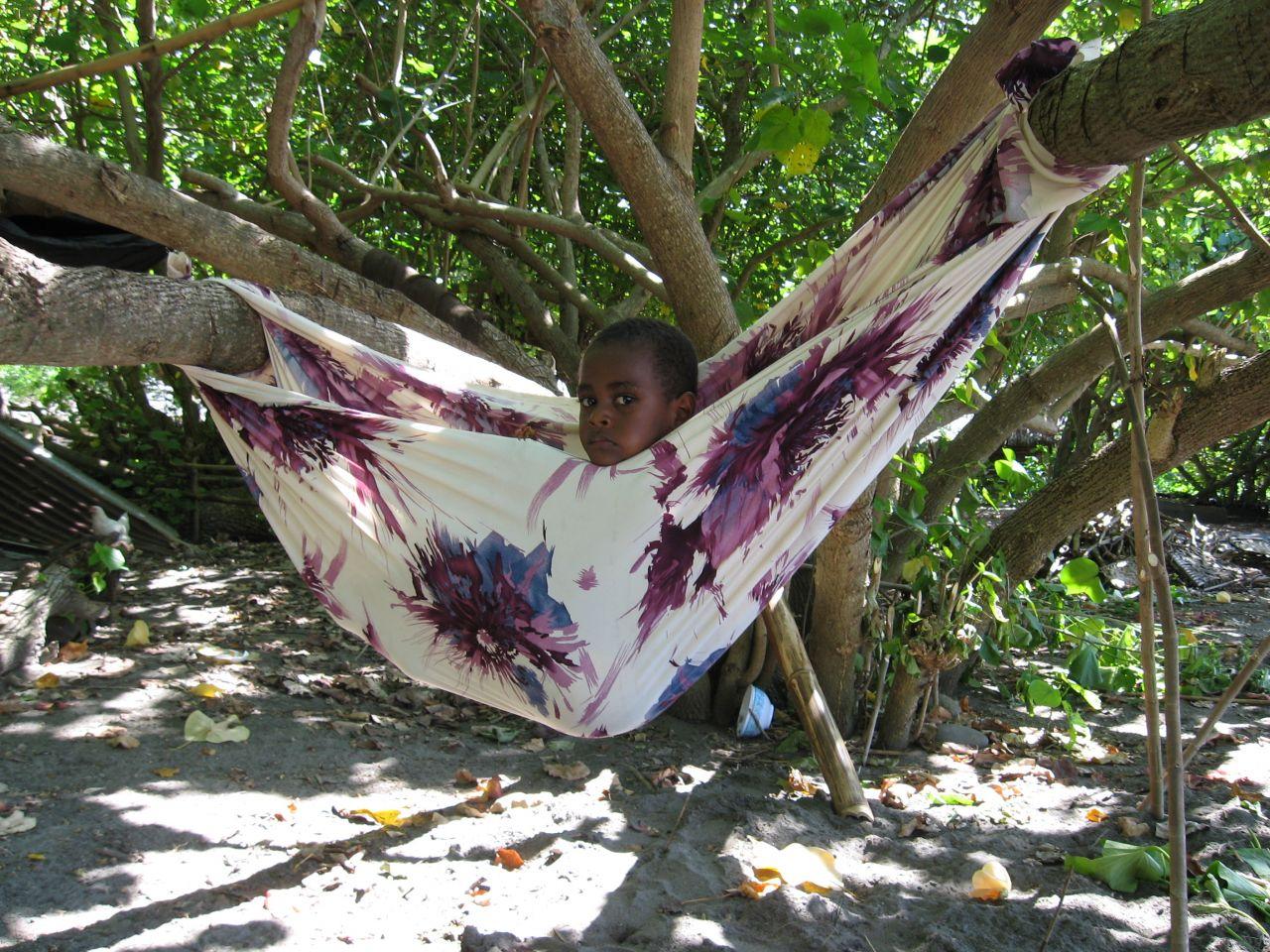 Mickey Hanging In Vanuatu