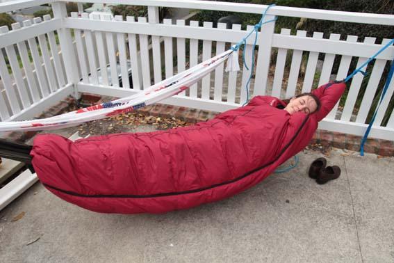 Diy Sleeping Bag Pod