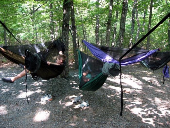 6 Hammock Camp, Hanging Rock State Park, Nc