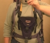 Camera Bag On Backpack Shoulder Harness
