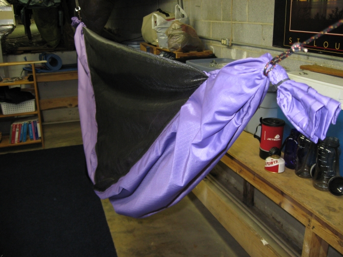 DD1's Purple birthday hammock