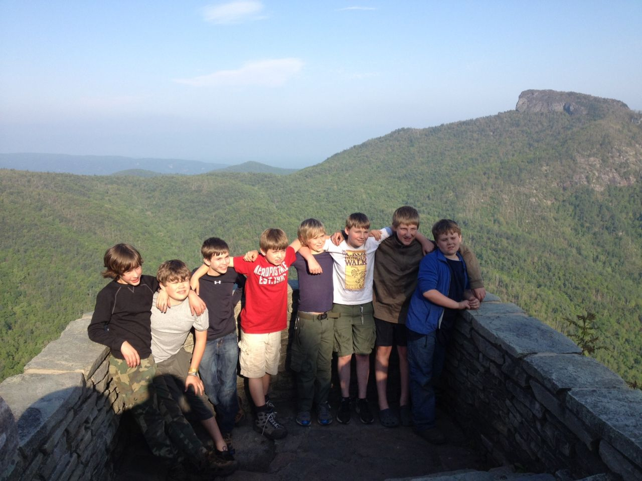 Boy Scout Troop 426 Tumc Visits Linville Gorge