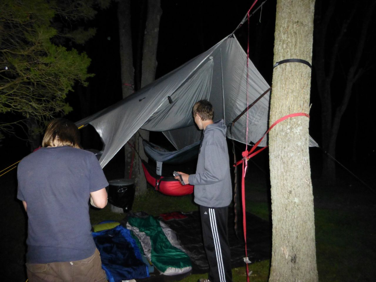 Hammocks Are Catching On In My Scout Troop