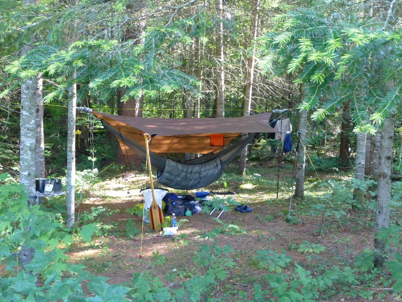 adirondacks   five ponds wilderness   inlet to high falls canoe trip  rh   hammockforums