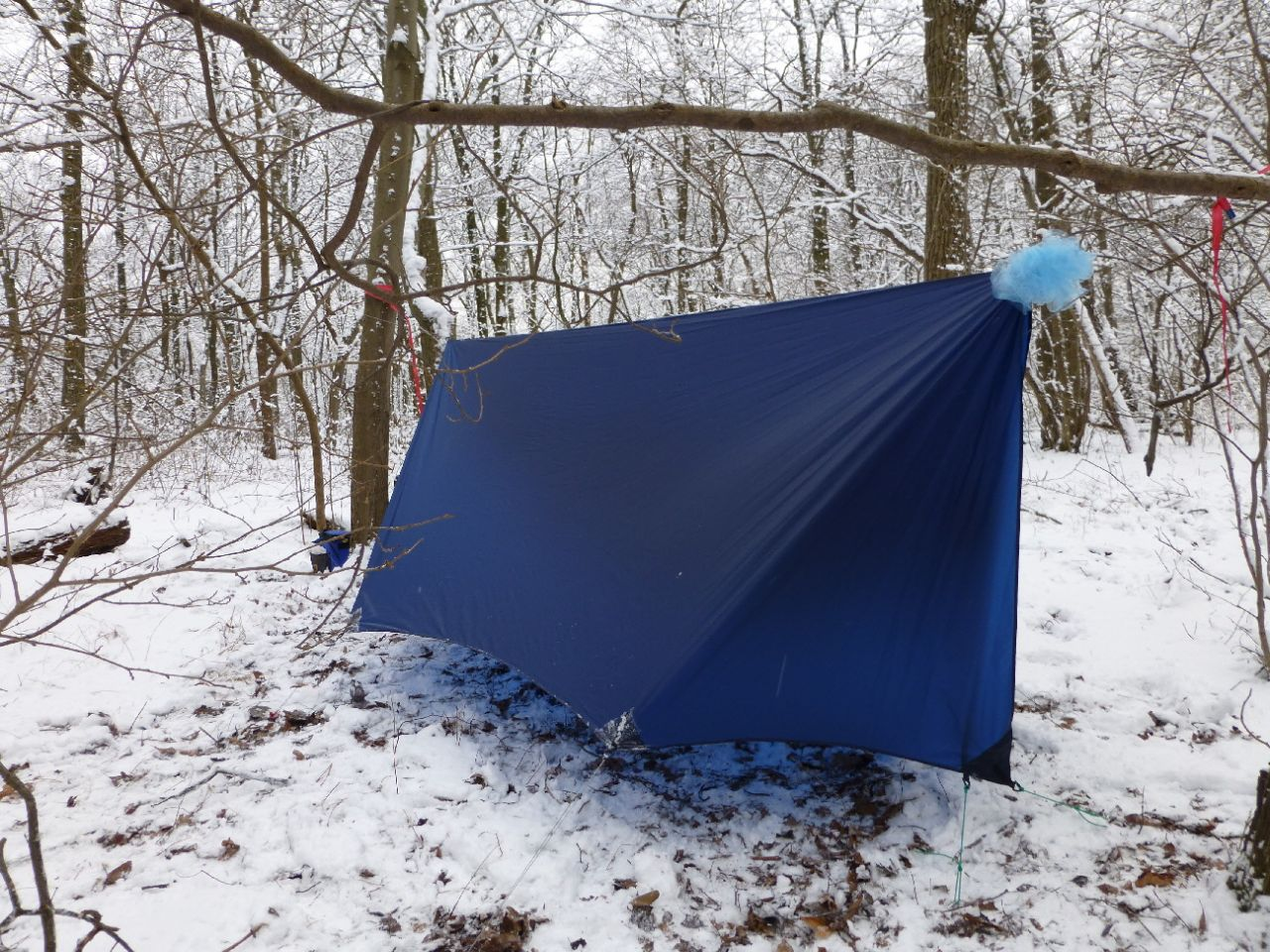 Noob with a grand trunk school me on things like tarps for Diy canvas hammock