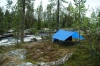 Hammocking In Muddus, Lapland