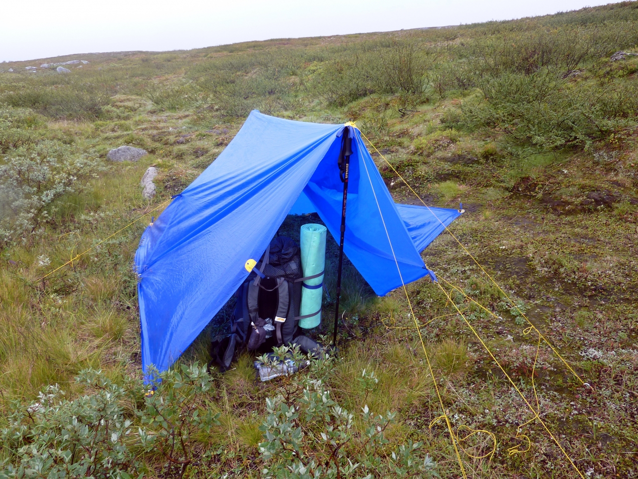 Swedish Lapland Hike 10'