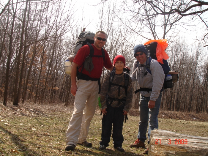 HY, Headrush & Pete @ Yellow River State Forest