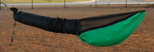 Raptor Sleep-shelter Shown With Shelter-sheath