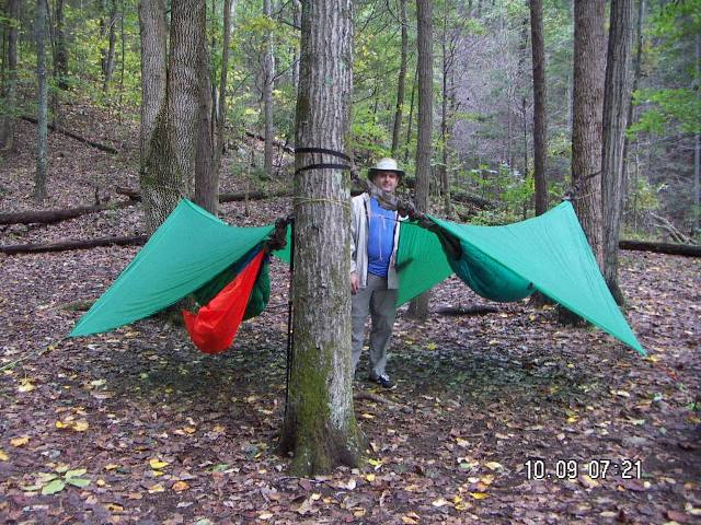 Jrb 8x8 Tarps At John's Hollow