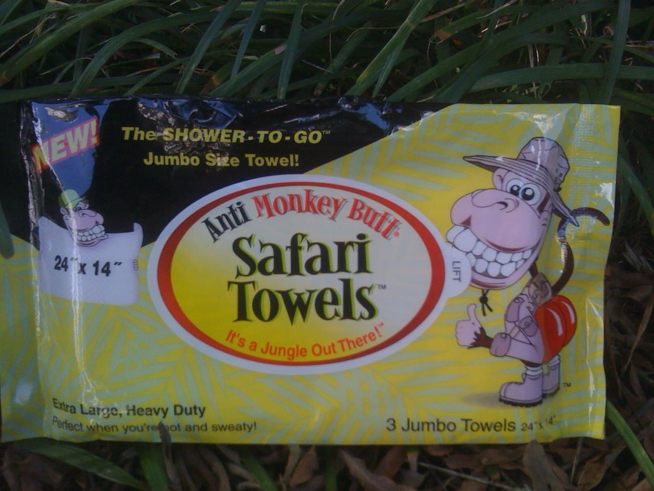 Anti-monkey-butt Towels