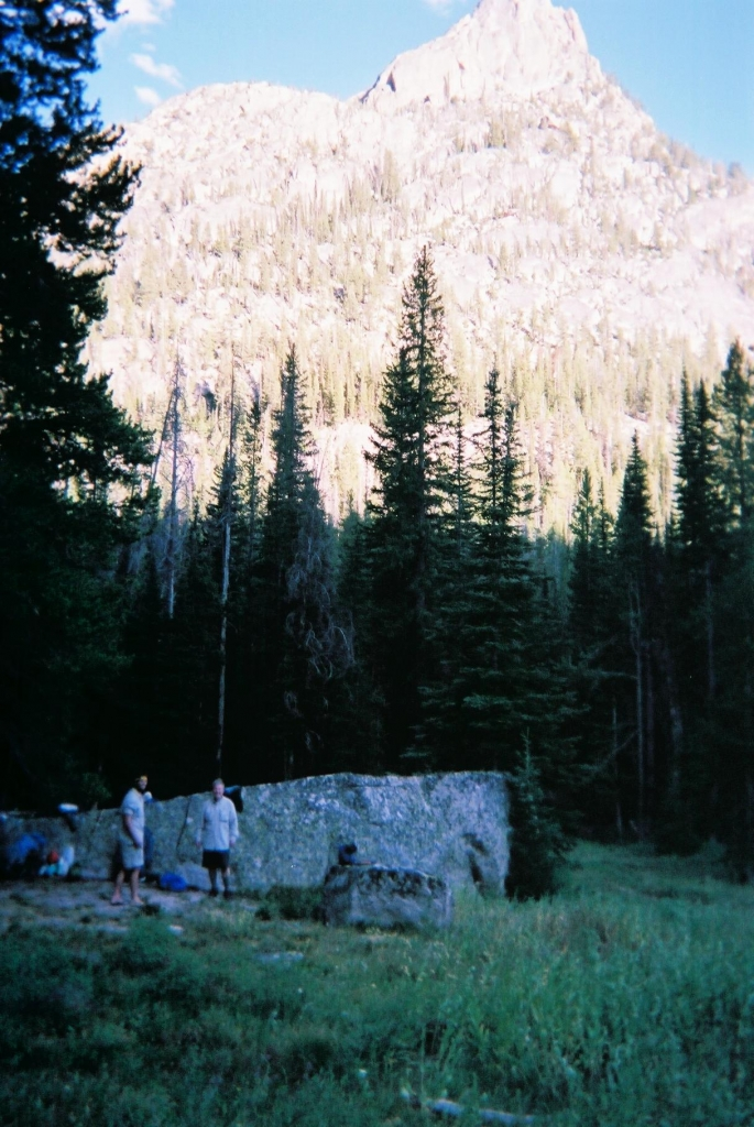 1st Nights Camp In Sawtooths Of Idaho 082111